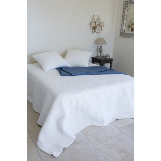 PARURE AMBIANCE 1 TAIE 180x250 BLANC